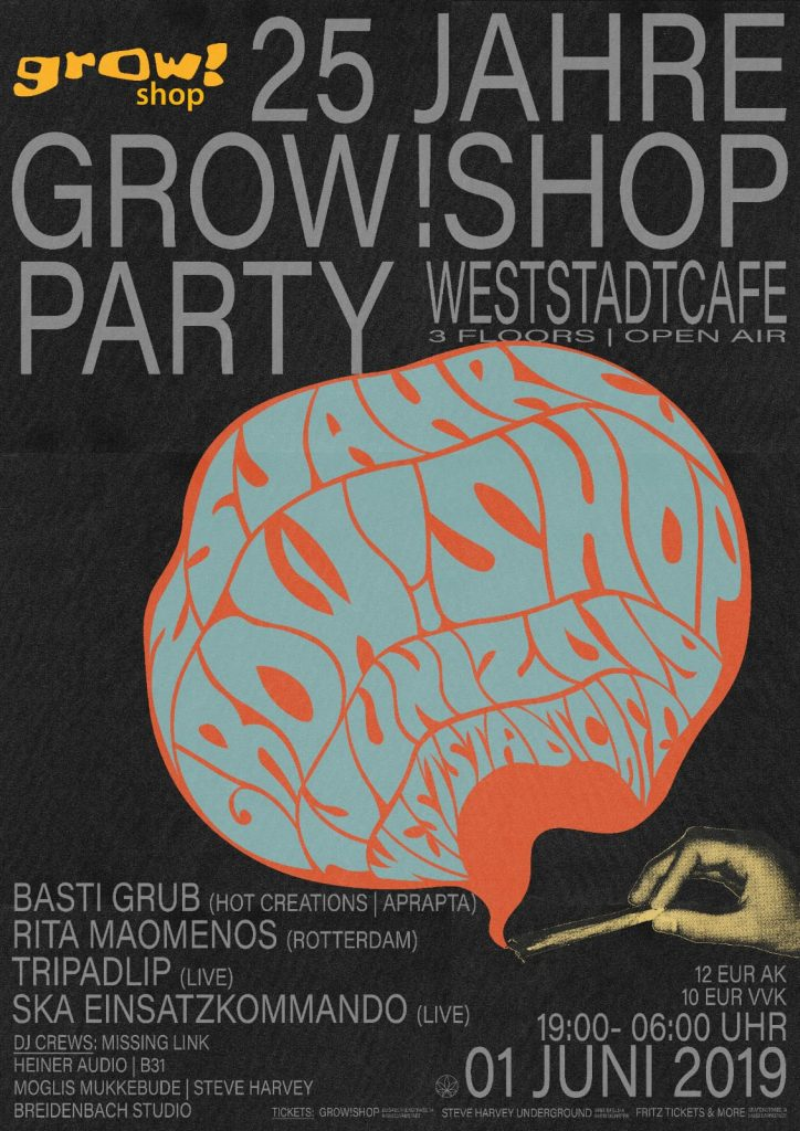 25 Jahre Grow! Shop Party | Open Air